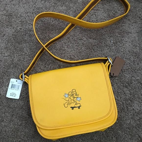 e55a6b86754c Coach x Disney crossbody bag